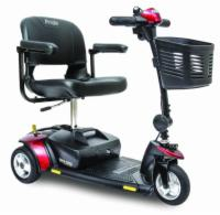 Pride Go-Go Elite Traveller - 3 Wheel Travel Scooter