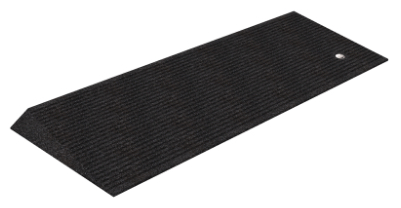 "Rubber Beveled Threshold Ramp 1.5"", Box of 2"
